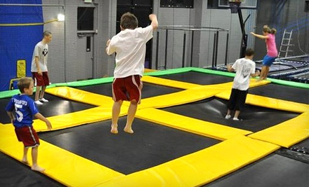 1 Hour of Trampoline Jumping for 2 People (a $20 value) - Get Air Sports in Roy