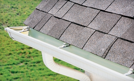 Gutter Clean for a Small Roof of up to 2,500 Square Feet (a $130 value) - JB Window Works in