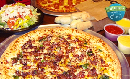 2499 Futura Pkwy. in Plainfield: Large Pizza Meal for 2 - HotBox Pizza in Plainfield
