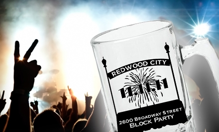 11/11/11 NerdNewYear on Fri., Nov. 11: Block-Party Package for 1 (a $33 total value) - 11/11/11 NerdNewYear in Redwood City