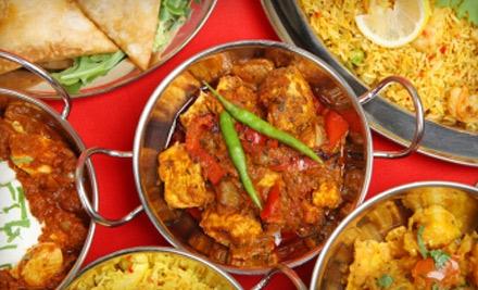 Dinner for 4 (a $73.50 total value) - Moti Mahal Indian Cuisine in Royal Oak