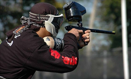 All-Day Paintballing Session for One With Equipment and 500 Paintballs (a $35 value) - Paintball Adventure Park in Union Bridge