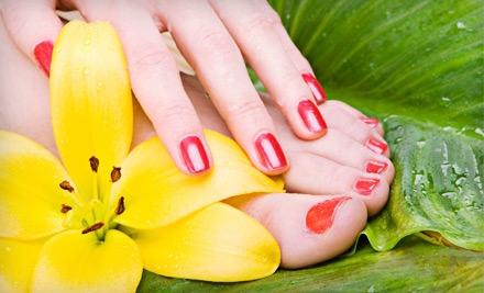 Basic Mani-Pedi (a $50 value) - Nail Day and Spa in Denver