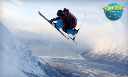 Two Senior/Student/Military Nighttime Lift Tickets (a $70 value) - Alyeska Resort in Girdwood