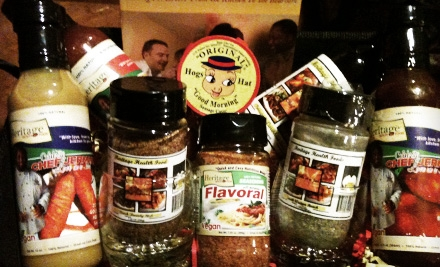 Gourmet Gift Basket (an $85 value) - Bon'Appetite Spices in