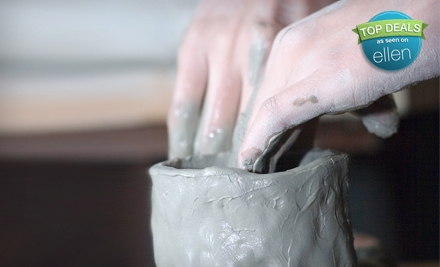 4 Pottery-Sculpting and Mosaic Classes for 1 (a $100 value) - The Clayroom in Brookline