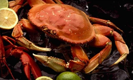 $80 Groupon to Giovannis Fresh Fish Market & Galley - Giovannis Fresh Fish Market & Galley in