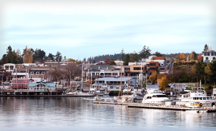 2-Night Stay for Two Adults in a Water Place Room, Valid Sun.Thurs. - Earthbox Motel & Spa in Friday Harbor
