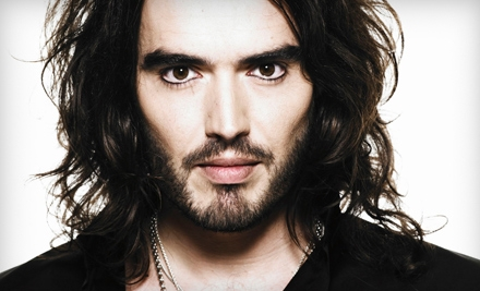 Russell Brand at the Patriot Center on Thurs., Nov. 17 at 8PM: Upper-Level Sections 101-103, 108-109, or 114-116 - Russell Brand in Fairfax