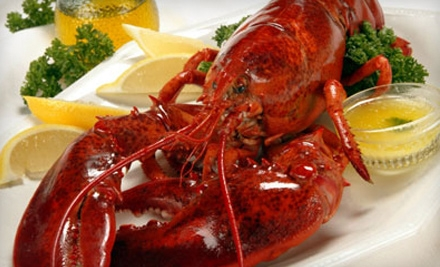 $100 Groupon for Fresh Lobster, Seafood, Steaks, and More - GetMaineLobster.com in