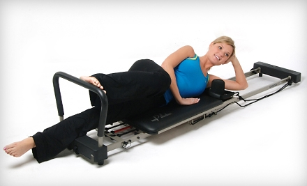 Stamina AeroPilates Premier 298 Reformer, 2 Workout DVDs, & Full-Color Workout Wall Chart - AeroPilates Reformer in