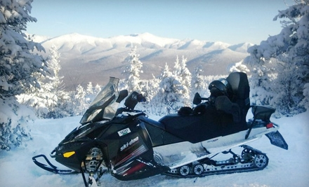 2-Hour Bog Pond or Franconia Notch State Park Snowmobile Tour on Sun.-Fri. (a $149 value) - SledVentures Snowmobile Rentals in Lincoln