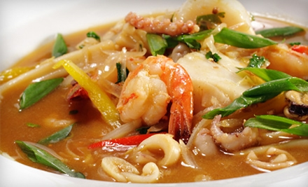 Thai Meal for 4 - PaPaYa Thai Restaurant in Tempe
