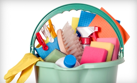 Full Cleaning Session with a Two-Person Crew (a $150 value) - Green Cleaning in