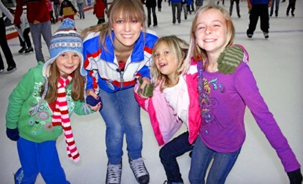 Three Public-Skate Passes (up to a $36 value) - San Diego Ice Arena in San Diego