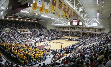 Boston College Eagles vs. Penn State Nittany Lions at Conte Forum on Wed., Nov. 30 at 7:15PM: Reserved Seating - Boston College in Chestnut Hill
