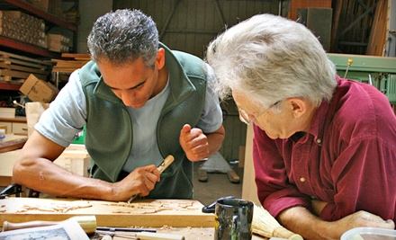 Introductory Woodcarving Seminar for One (a $220 value) - Calvo Studio in Gloucester