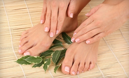 Deluxe Gelish Manicure (a $42 value) - Diva Nails in Prairie Village