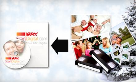 $100 Groupon - ScanDigital in