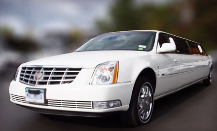 5 Hours of Service in a Standard Limousine (a $500 value) - M&V Limousines Ltd. in