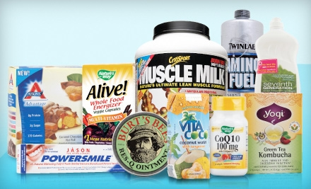 $30 Groupon to Vitacost.com - Vitacost.com in
