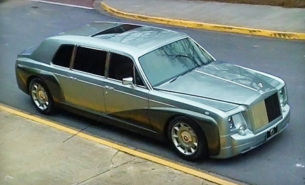 1-Way, 1-Hour Romantic Ride for 2 in a Rolls Royce Phantom (a $750 value) - Royal Limousine in