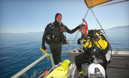 Scuba or Snorkel Trip for 1 (a $109 value) - Scuba Mood in South Lake Tahoe