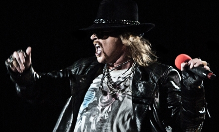 Guns N' Roses at The Palace of Auburn Hills on Thu., Dec. 1 at 8PM: Sections 116 & 124 - Guns N Roses in Auburn Hills
