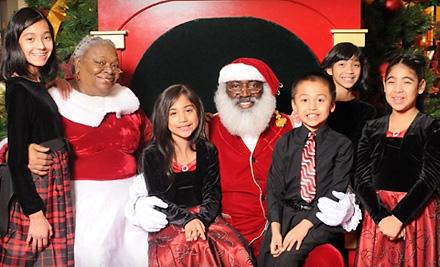 Photos with Santa, One 5