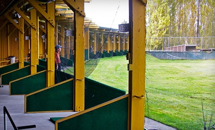 1 Punch Card for 25 Large Buckets of Driving-Range Balls (a $120 value) - Redwood Golf Center in Redmond
