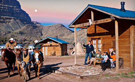 2-Night Stay in a Standard Cabin and Breakfast for Two (a $259 value) - Grand Canyon Ranch in Meadview