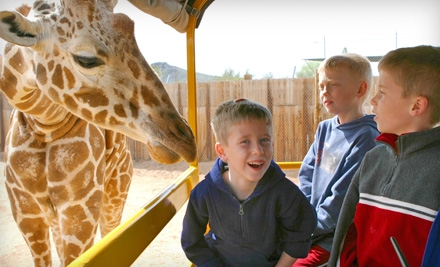 2 General Admission Adult Tickets - Out of Africa Wildlife Park in Camp Verde