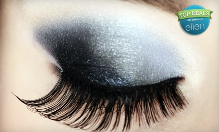 Good for a Complete Set of Eyelash Extensions (a $125 value) - Sachet Salon and Spa in Bountiful
