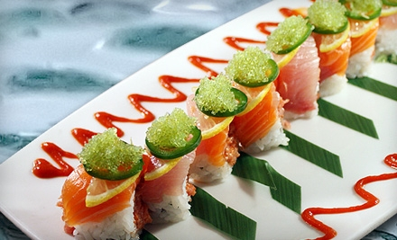 $50 Groupon to Naan Sushi Japanese Restaurant - Naan Sushi Japanese Restaurant in Plano