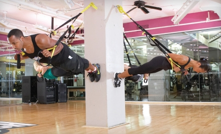 1-Month Gym Membership and 1 Personal-Training Session (a $212 value) - Crunch in Brooklyn