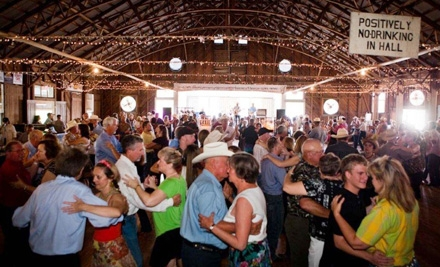 Rocky King & Dance Hall Cowboys at Anhalt Dance Hall on Sat., Dec. 17 at 8PM: General-Admission for Two - Rocky King & Dance Hall Cowboys in Spring Branch