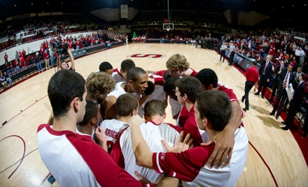 Stanford University Cardinals vs. NC State Wolfpack at Maples Pavilion on Sun., Dec. 4 at 1PM: Upper End Seating - Stanford Cardinal Men's Basketball in Stanford