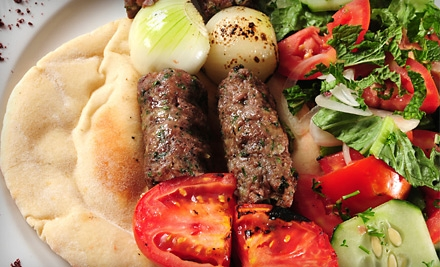 Contemporary Mediterranean Dinner for 2 (up to a $50 total value) - Olive Cafe in Portland