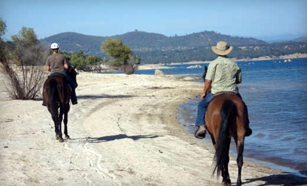 2-Hour Horseback Ride and Picnic for 1 (a $140 value) - Boarding On The Lake in Granite Bay