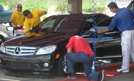 Express Detail for a Car (a $99.95 value) - Super Star Car Wash in Phoenix