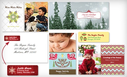 Holiday-Card Package with Set of 30 Custom Holiday Cards with White Envelopes - Vistaprint in