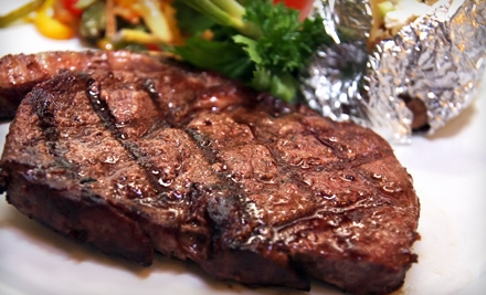 Steak Dinner for 2 - Palace Family Steakhouse in San Francisco