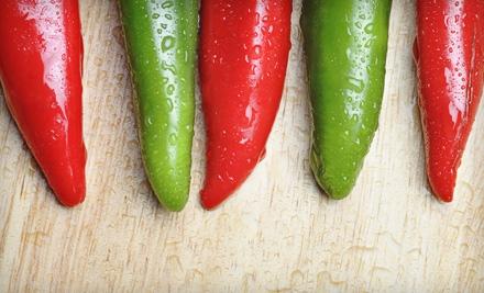 Dinner for Two - Chili Verde in Denver