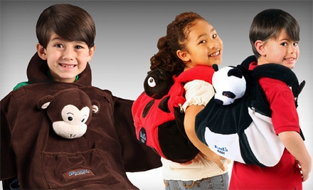 One Panda, Ladybug, or Monkey BlanKid Buddy (a $30 value) - Panda, Lady Bug, or Monkey 4-in-1 BlanKid Buddies in