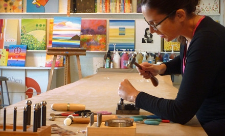 2.5-Hour BYOB Painting Class for 1 (a $45 value) - The Fun Palette in Miami