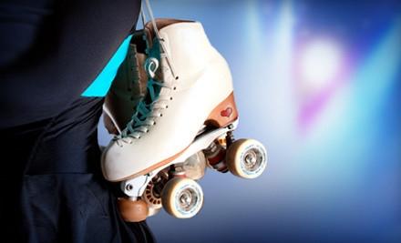 Skating Package for 2 - Slapshots Family Skate Center in Cumming