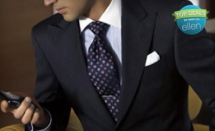 Men's Custom Suit (a $999 value) - Capital Custom Clothiers in