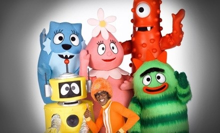 Yo Gabba Gabba! Live! It's Time To Dance! on Sat., Dec. 10 at 2PM: Mezzanine Level - Yo Gabba Gabba! Live! It's Time to Dance! in Fort Lauderdale