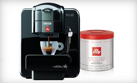 Whole Latte Love - Gaggia for Illy Plus Single-Serve Espresso Machine in