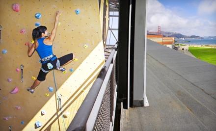 Week-Long Unlimited Climbing Membership for 1 - Planet Granite in San Francisco